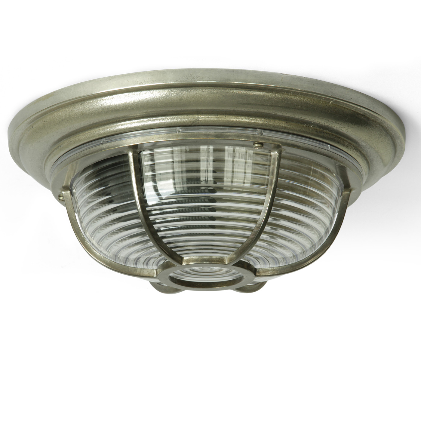 Image 1 solid construction the maritime ships ceiling lamp shown here in antique silver patinated finish