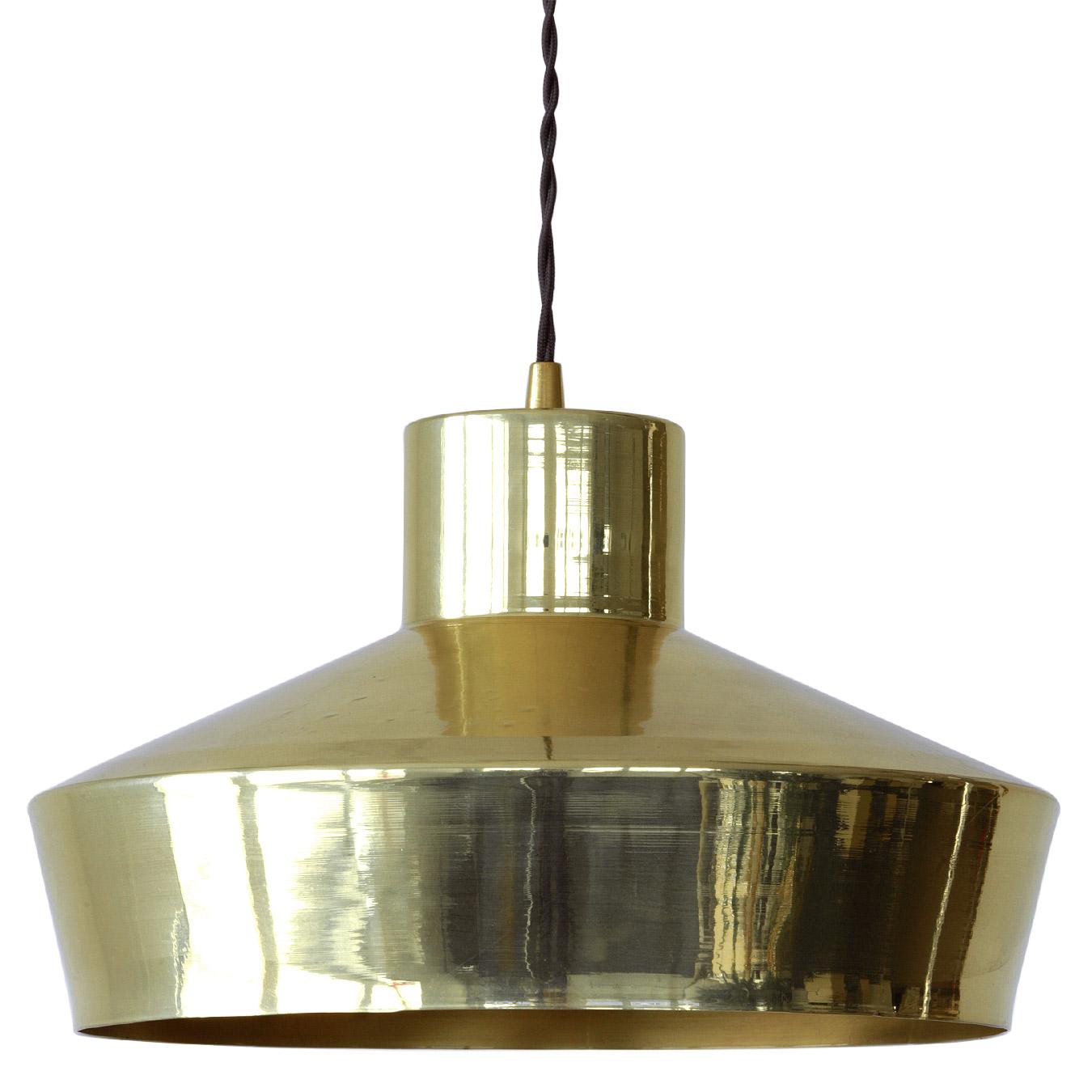 Casa Luminaire simple brass pendulum lamp from the manufactory - casa lumi