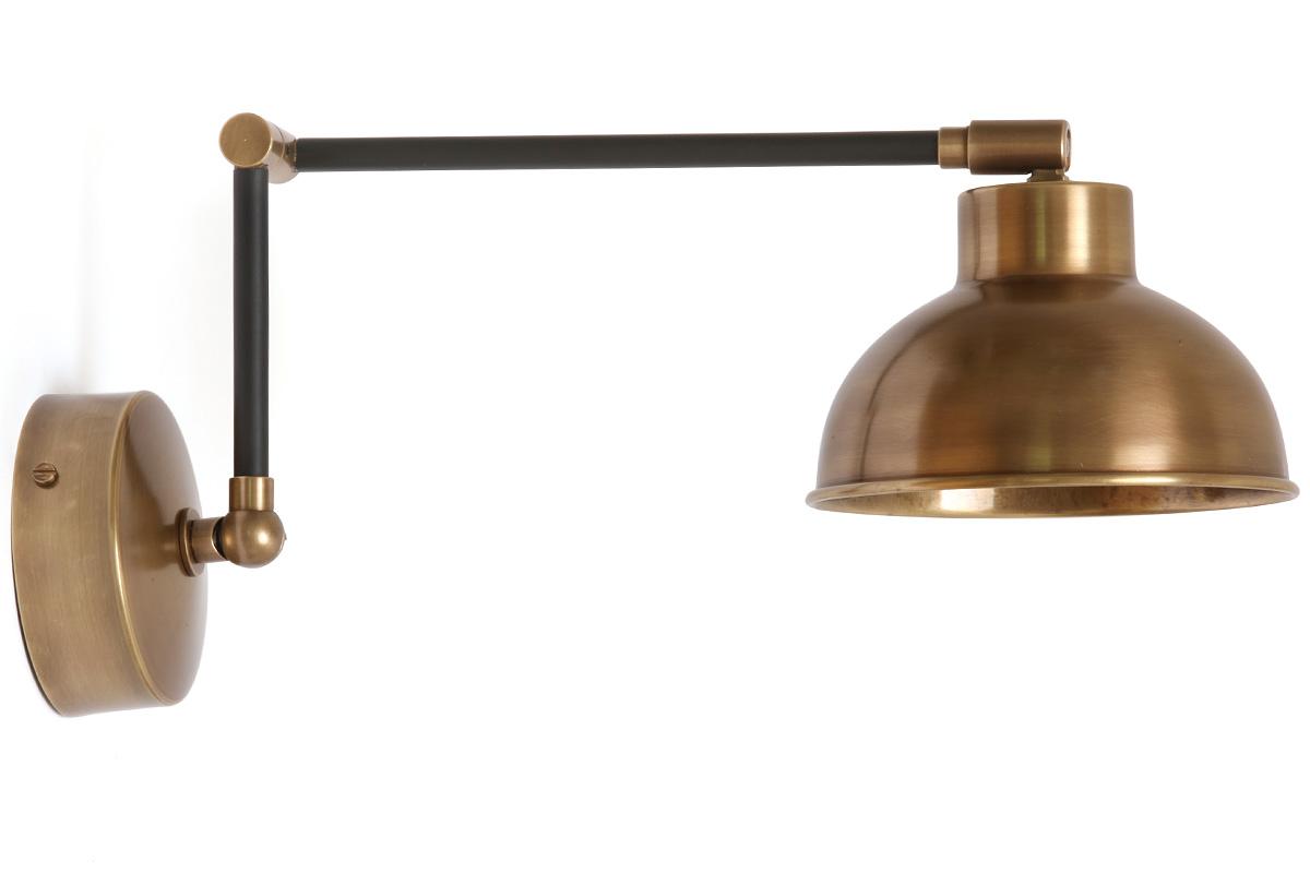 Schwenkbare wandlampe z b als leselampe am bett casa lumi - Schwenkbare wandleuchte mit gelenkarm ...