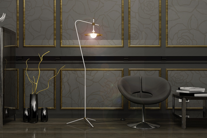Mid century design stehleuchte mit dreibein casa lumi mid century design stehleuchte mit dreibein von tueri design werkstatt bild 10 parisarafo Choice Image
