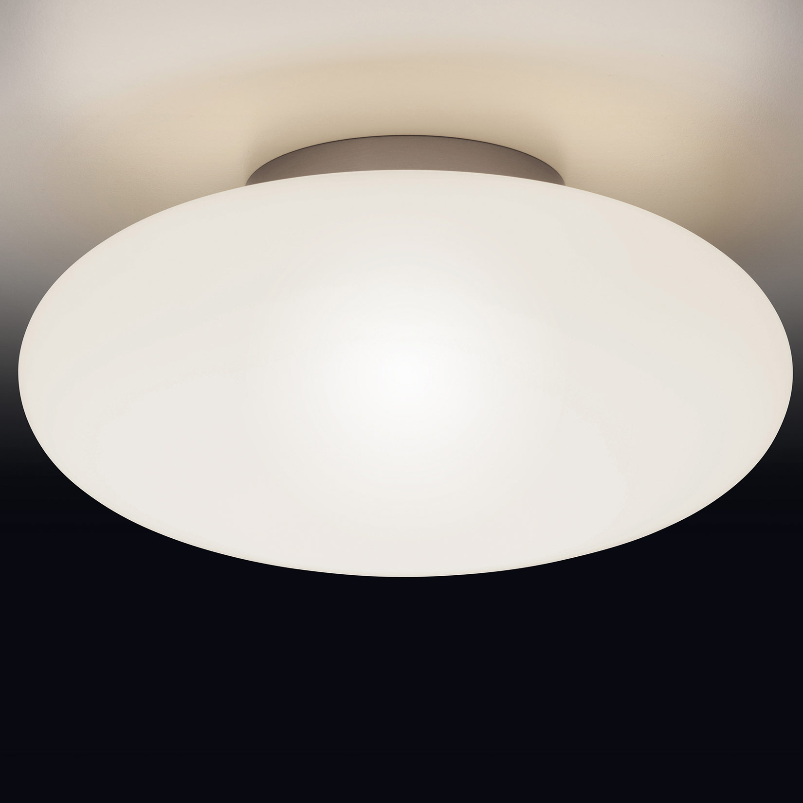 Moderne Opalglas Deckenleuchte AMOR LED Ø 20–20 cm   Casa Lumi