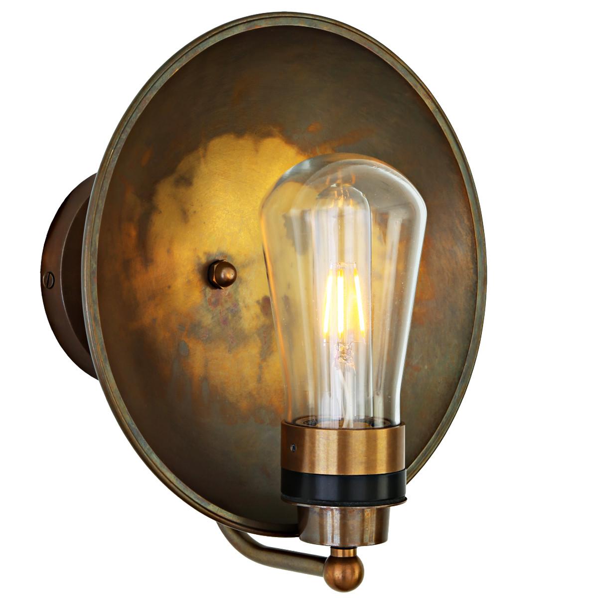 Nostalgische Badezimmer-Wandlampe, IP65 - Casa Lumi