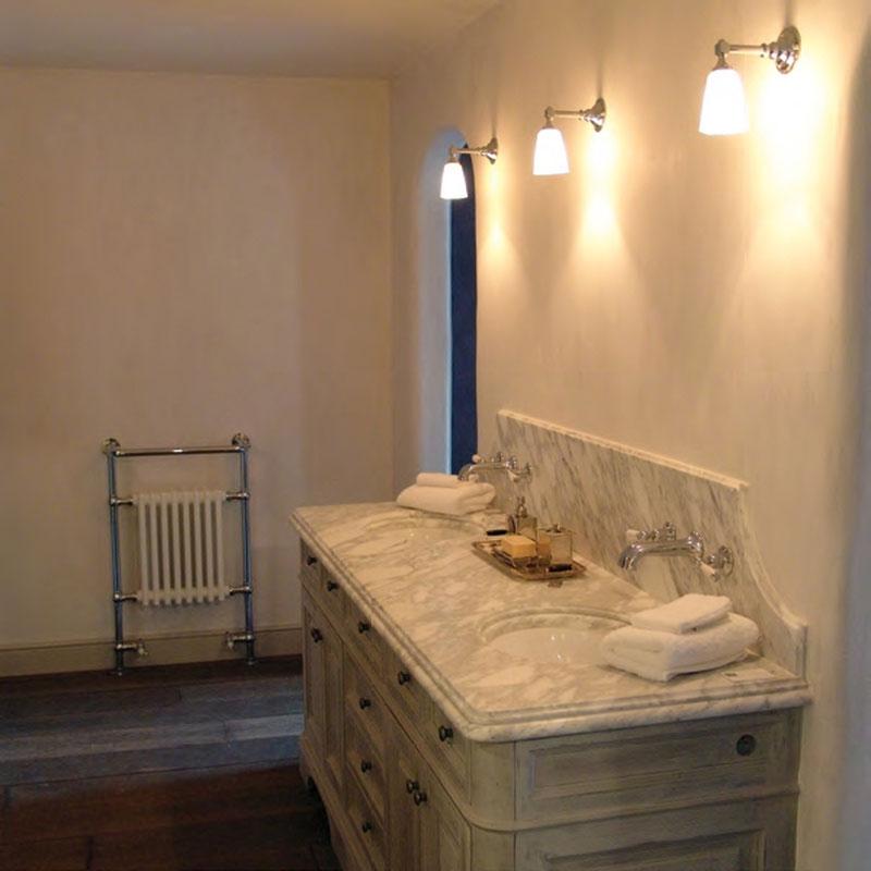 Exklusive Wandleuchte für Badezimmer-Spiegel - Casa Lumi