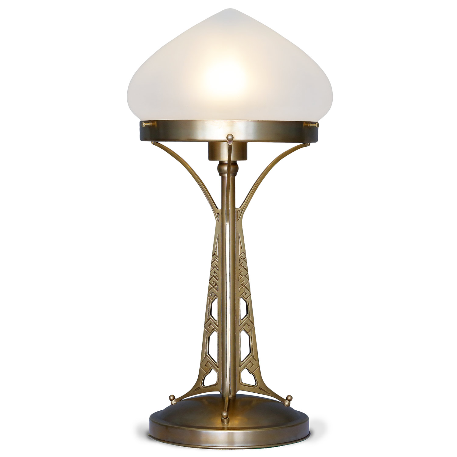 Magnificent Art Nouveau Table Lamp In Mushroom Shape Casa Lumi
