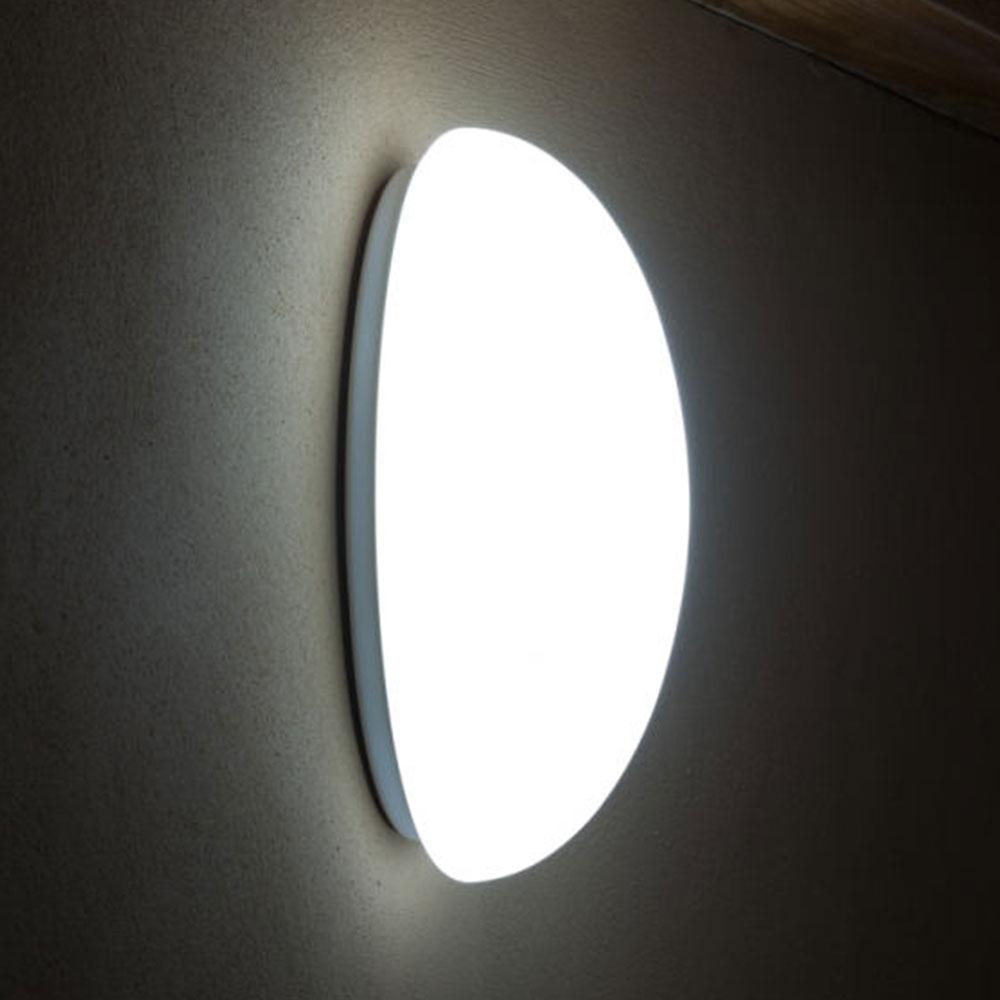 Simple Oval Wall Light Alva With Opal Glass Shade Casa Lumi