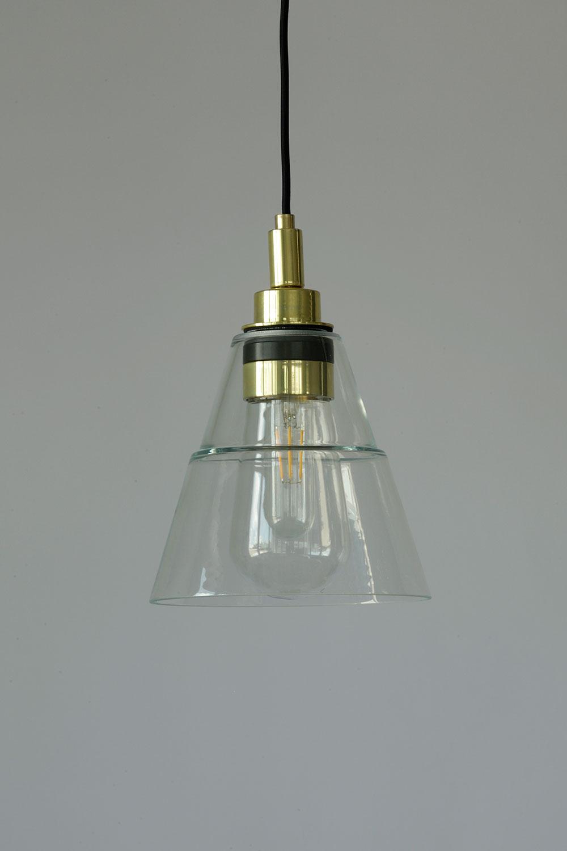 Kleine Glas Hängeleuchte auch für Badezimmer, IP20   Casa Lumi