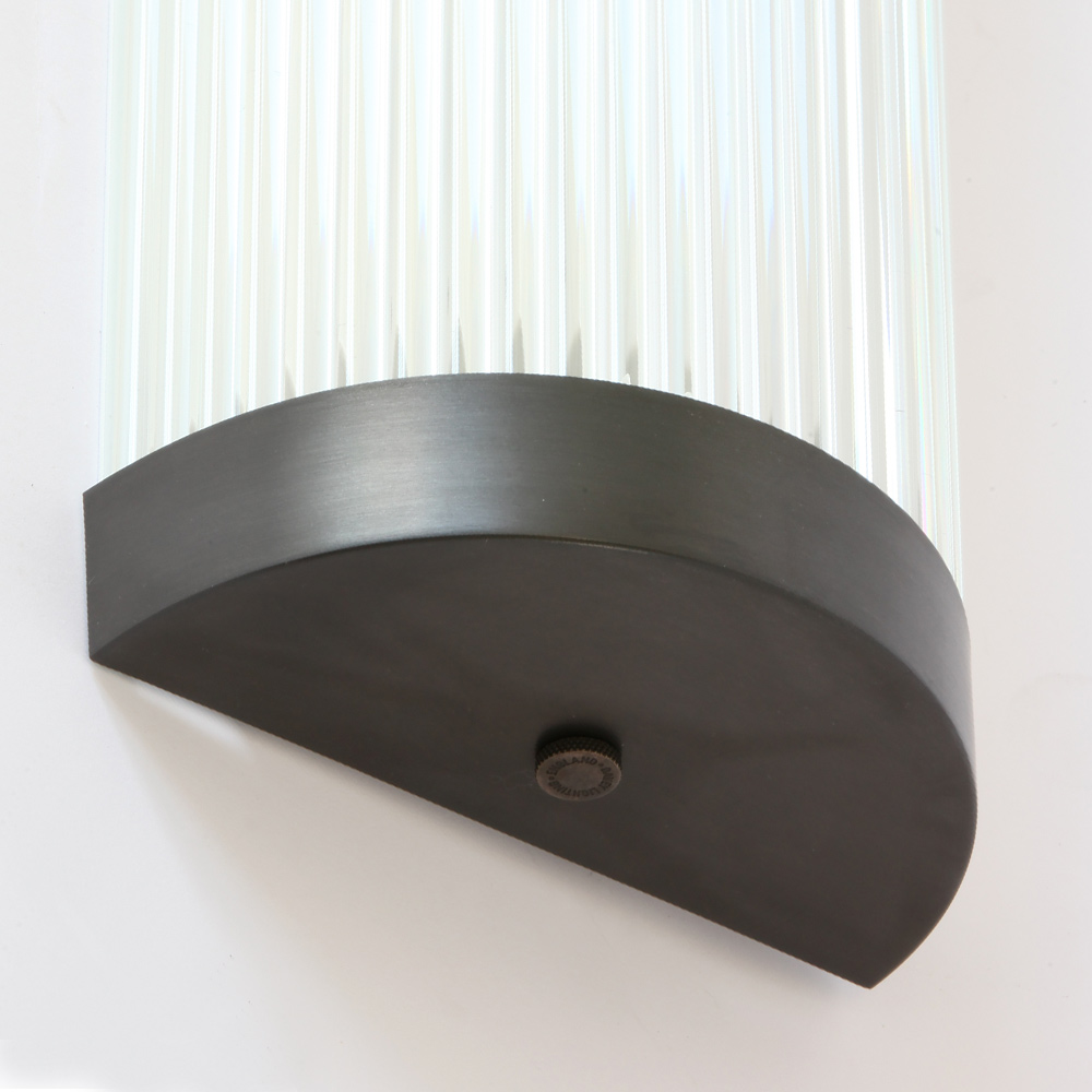flache glasst bchen wandleuchte led ip44 casa lumi. Black Bedroom Furniture Sets. Home Design Ideas