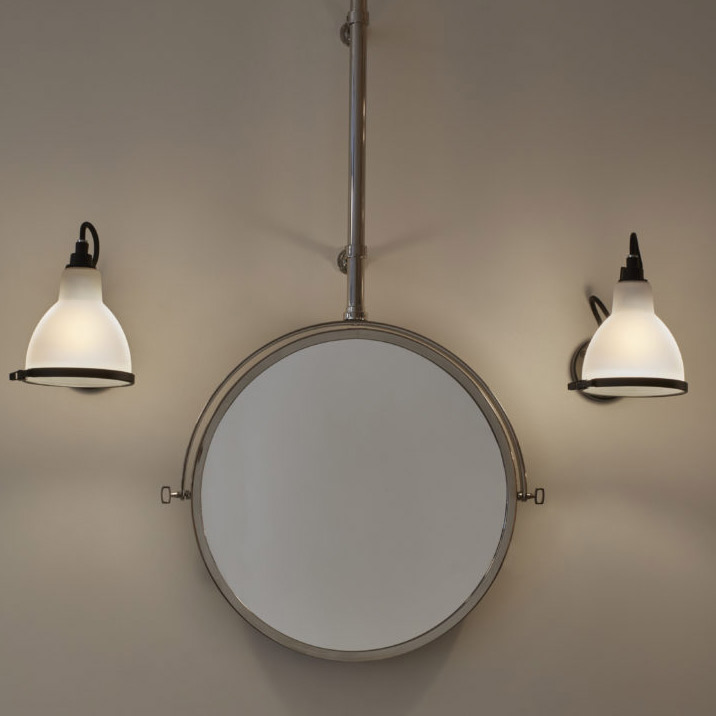 Badezimmer-Wandlampe N° 304 mit Kugelgelenk - Casa Lumi