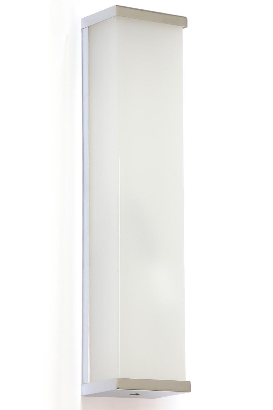 Hohe Chrom Wandleuchte Z.B. Für Bad Spiegel, LED Von Edition Casa Lumi,