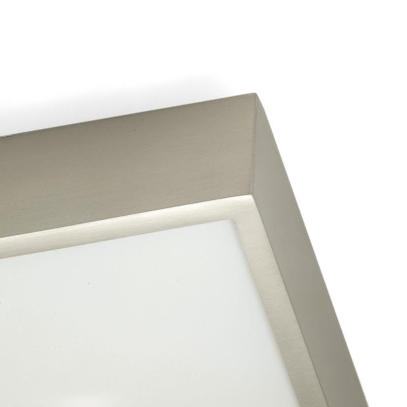 Ip44 Quadratische Badezimmer-Deckenleuchte - Casa Lumi