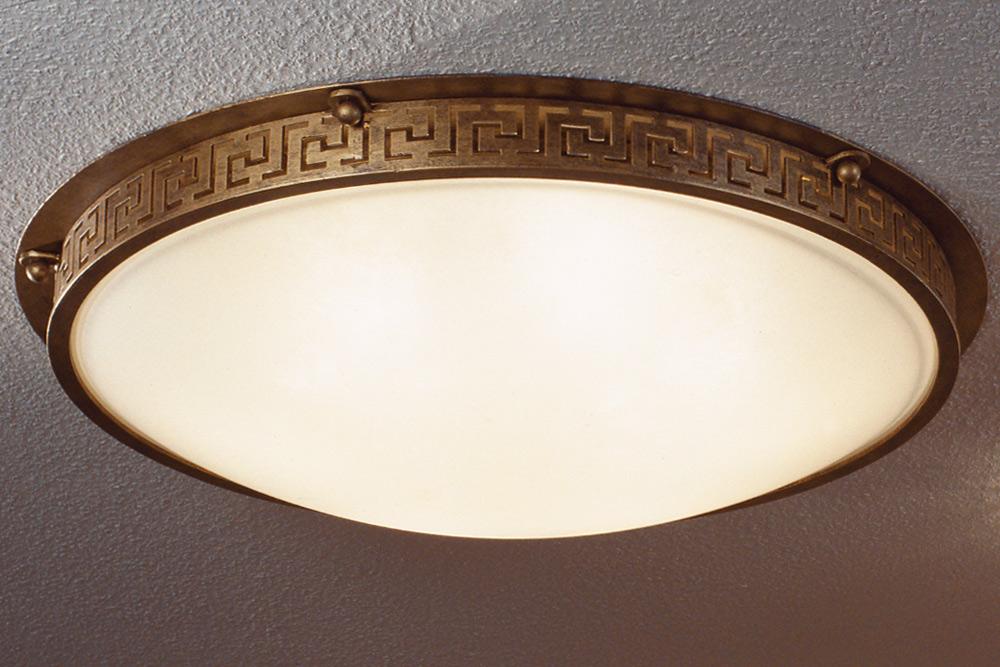 Moderne Lampen 88 : Große deckenleuchte aus schmiedeeisen Ø 88 cm casa lumi