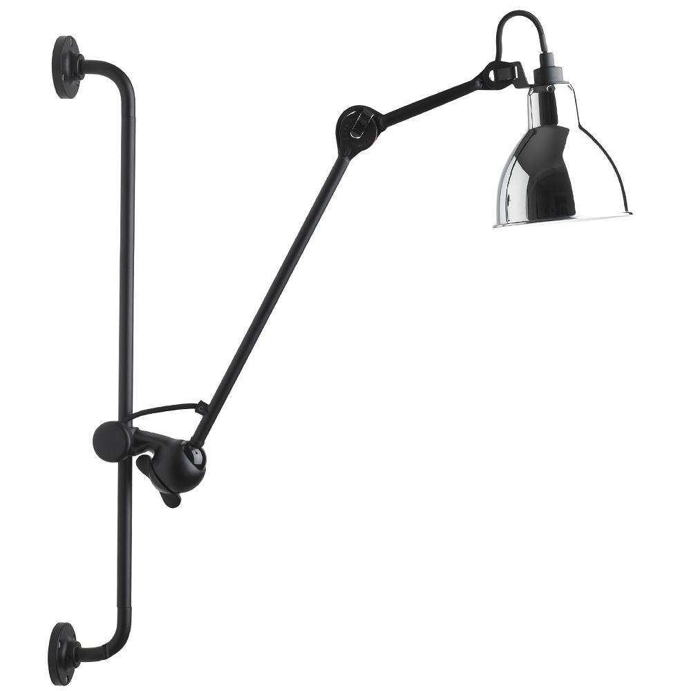 Schienen Wandlampe N 176 210 Mit Gelenkarm Casa Lumi