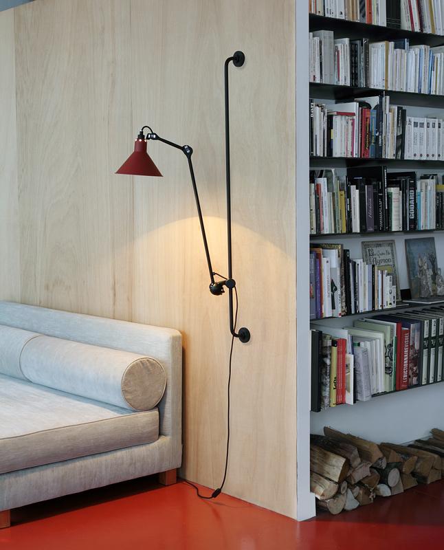 gelenkarm wandleuchte n 214 mit wandschiene casa lumi. Black Bedroom Furniture Sets. Home Design Ideas