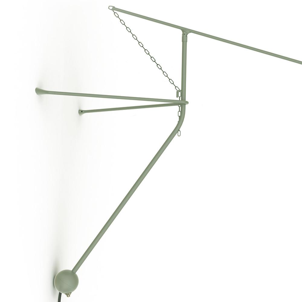 mantis ausleger wandleuchte im design der 50er casa lumi. Black Bedroom Furniture Sets. Home Design Ideas
