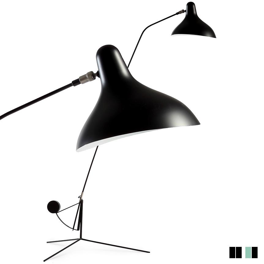 Bild 1 Bernard Schottlanders Skulptur Aus Balance Und Eleganz MANTIS Floor Lamp
