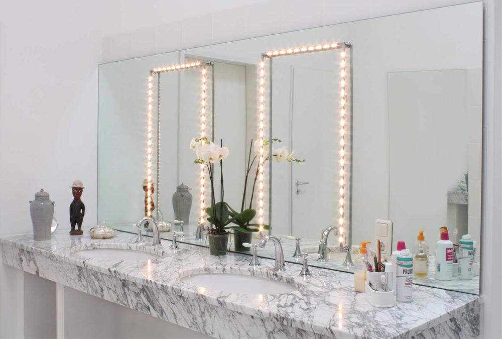 make up spiegel licht