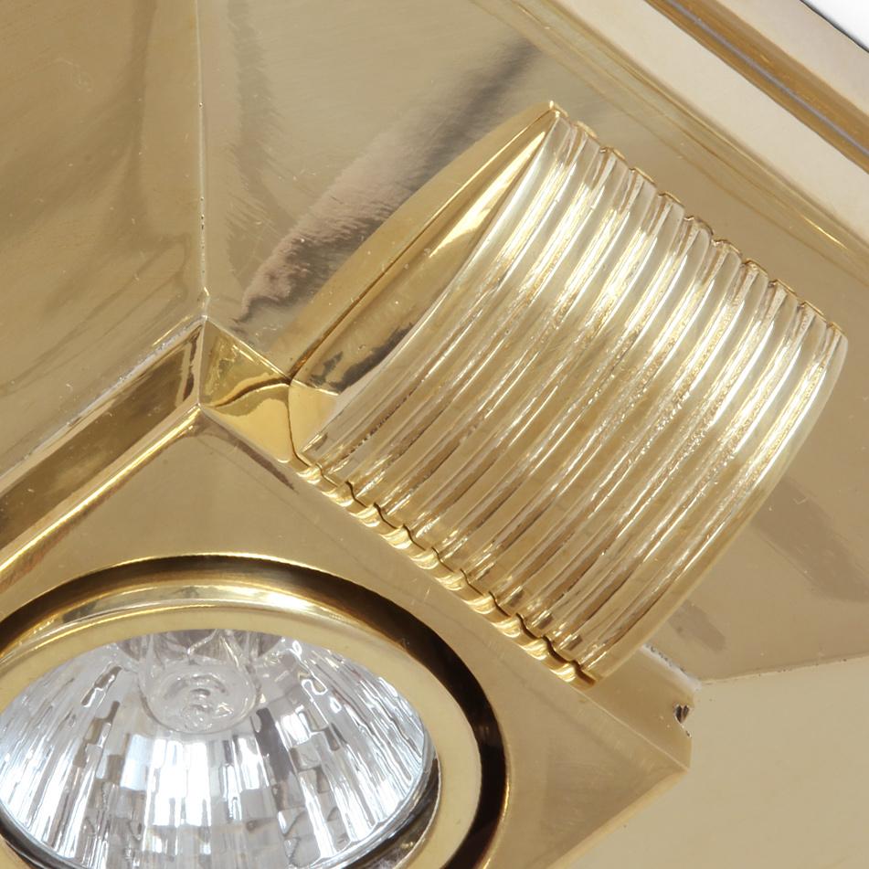 strahler in klassischem art d co design wand decke casa lumi. Black Bedroom Furniture Sets. Home Design Ideas