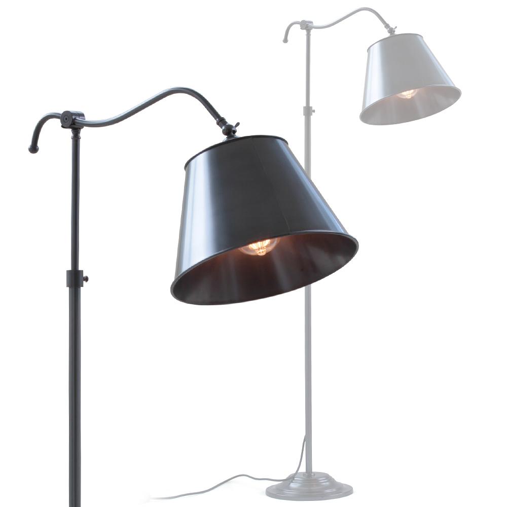 franz sische lese stehlampe aus messing casa lumi. Black Bedroom Furniture Sets. Home Design Ideas