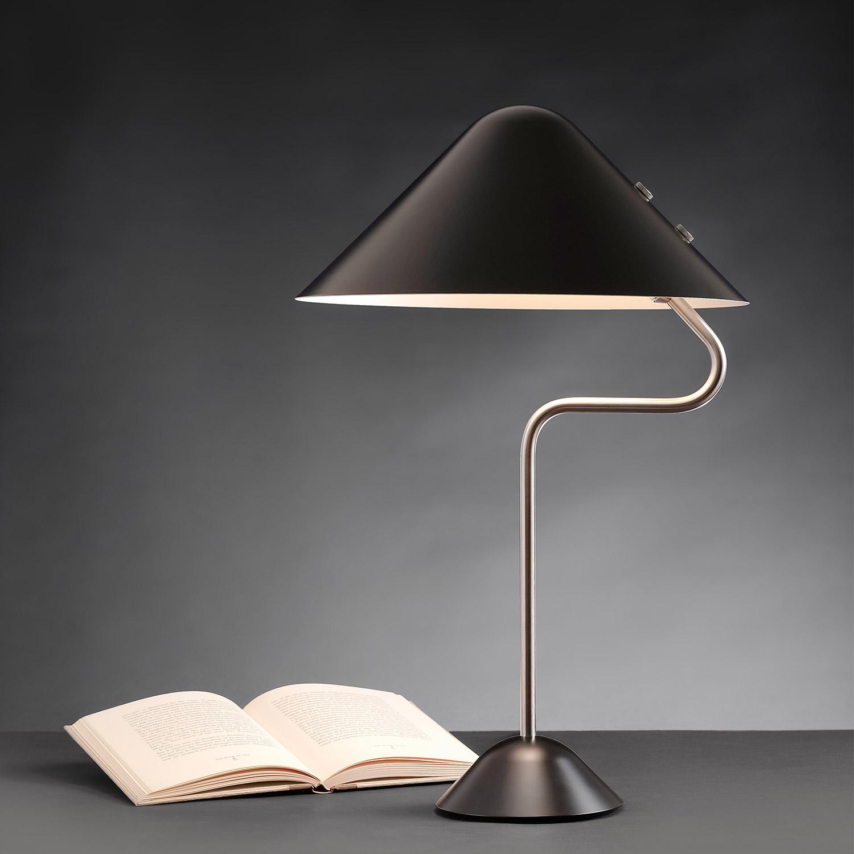 Designer Table Lamp Vip Scandivavian Classic From The 70s 80s Casa Lumi