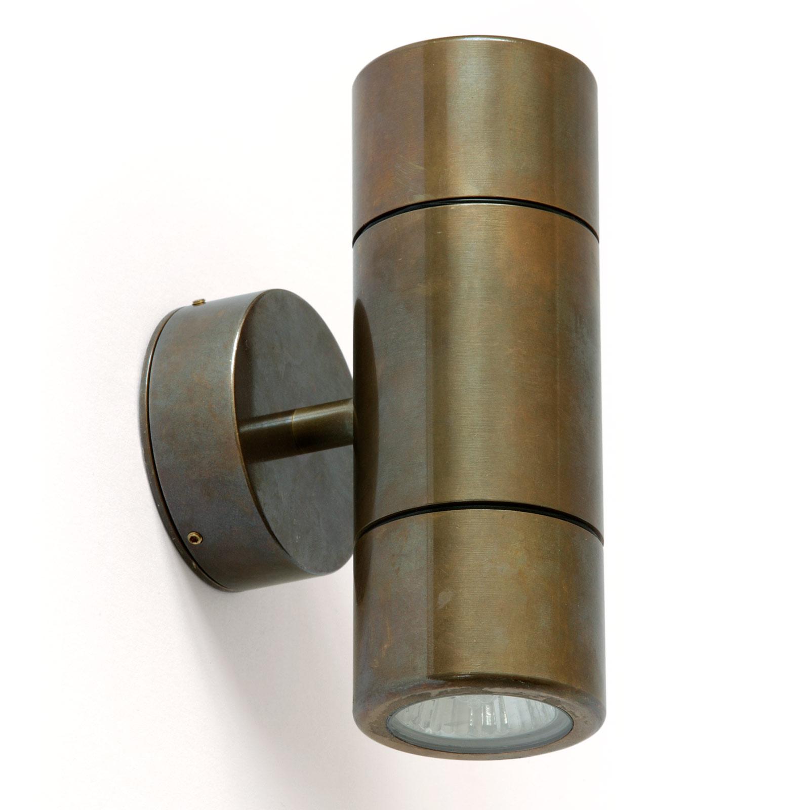 Up-Down-Strahler CLARE aus Messing (IP65, auch für Badezimmer ...