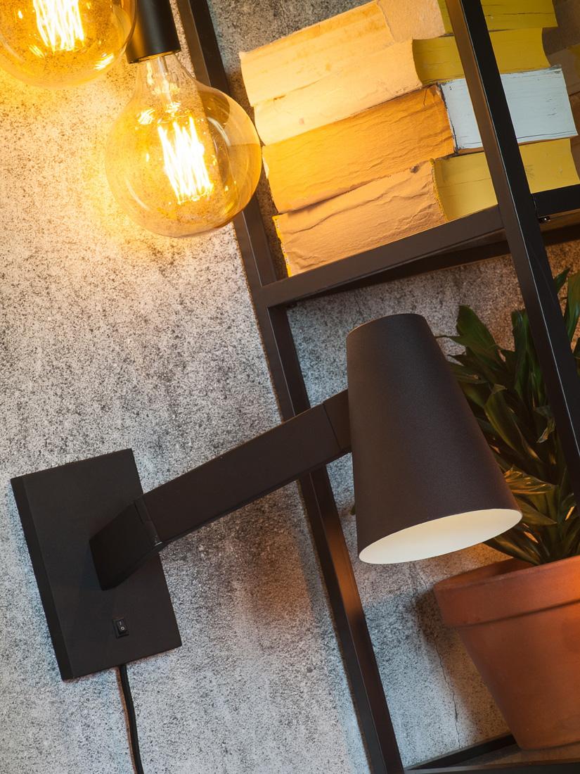 moderne gelenk wandleuchte mit kabel leseleuchte am bett. Black Bedroom Furniture Sets. Home Design Ideas