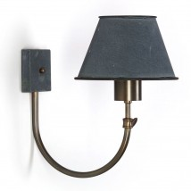 Pretty shaded wall light from France BERMUDA