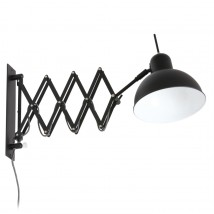 Bauhaus extendable steel scissors light in black