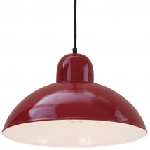 SOLINGEN Hanging light with dome shade