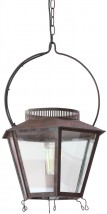 BRINVILLE Brass lantern from France