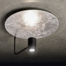 Suspended design ceiling light DISC with various color options