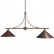 Two-flame billard or dining table light COURSIF