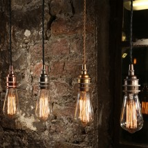 Simple Pendant Light For Use With Edison Bulbs Von Aire Lighting Image 5
