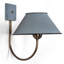 Elegante shaded wall light from France COURSIF