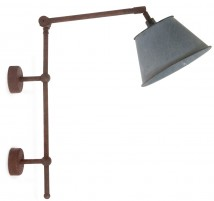 CHAUCER French wall light made of brass