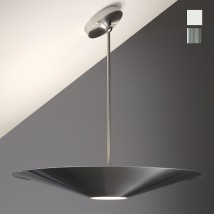 Large designer pendant UPLIGHT, also for sloped ceilings