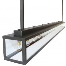 VITRINE 20L Cassette pendant light for counters and kitchens