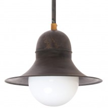 SIEGEN Ceiling and rod pendant lamp made of copper