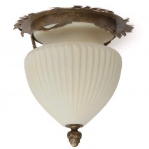 DE 2332 Art Nouveau ceiling lamp made of wrought iron