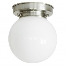 Small ball ceiling light with opal glass Ø 10/15/20/25/30 cm
