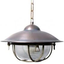 KONTOR Nostalgic industrial pendant lamp with chain