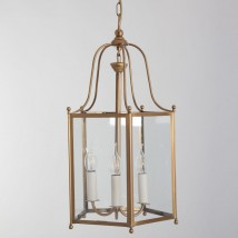 DIRECTOIRE Brass lantern from France