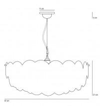 h ngeleuchter mit porzellanscheiben behang pembridge. Black Bedroom Furniture Sets. Home Design Ideas