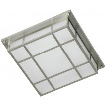 Large square latticed box ceiling light
