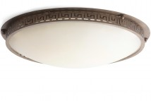 Large ceiling light made of wrought iron Ø 88 cm