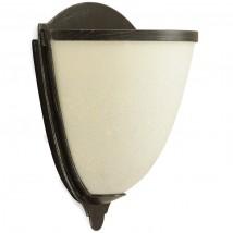 elegante wandleuchte aus messing mit glasschale casa lumi. Black Bedroom Furniture Sets. Home Design Ideas