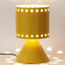 POLLY Table lamp with decorative holes in various colors
