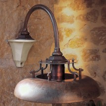 Italian country house wall light CINQUE TORRI von Aldo Bernardi, Image 21